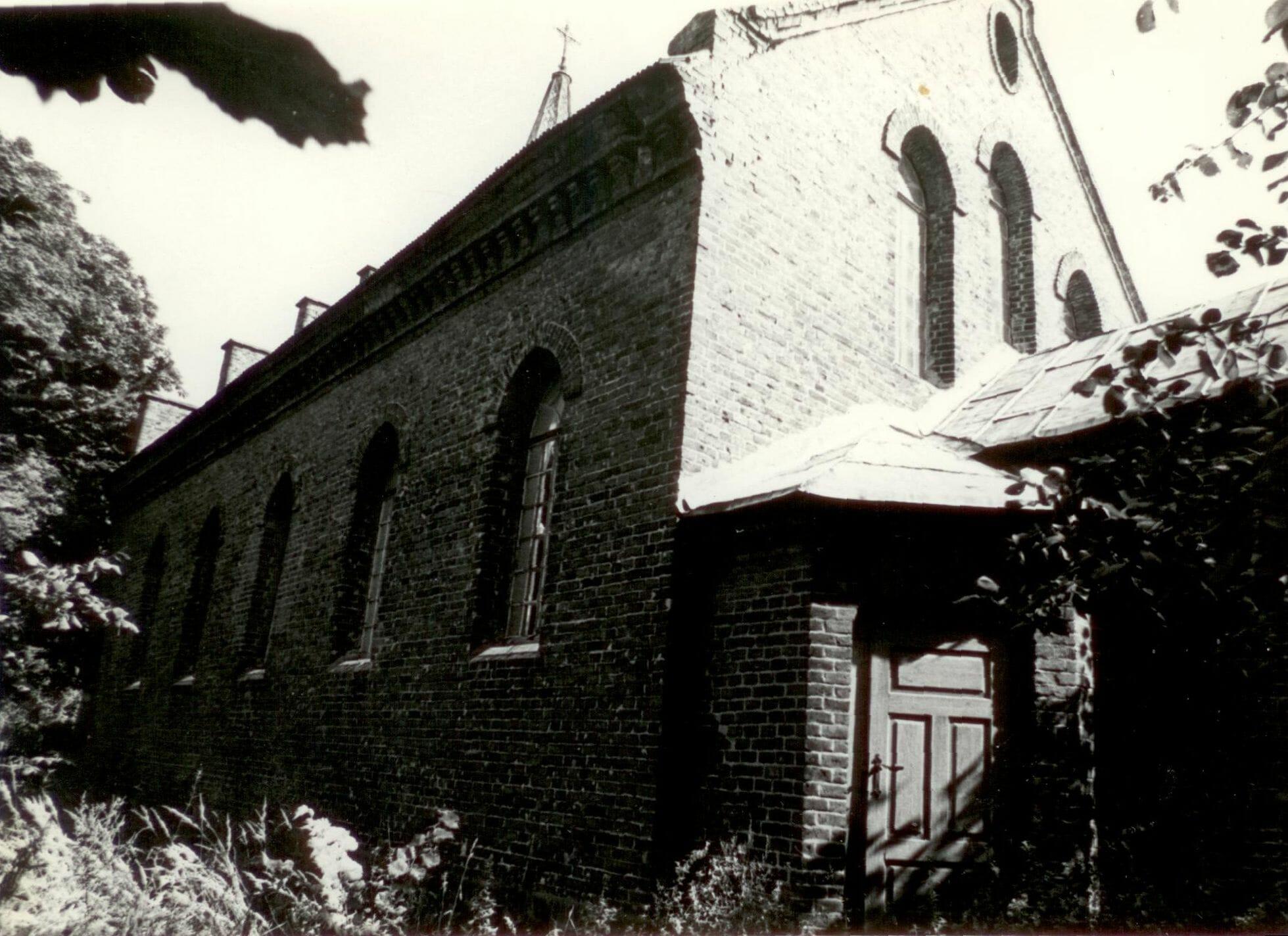Nieistniejący kościół ewangelicki w Kucowie
