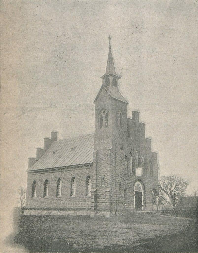 kościół ewangelicko-reformowany w Kucowie (1899) (historia parafii w Kleszczowie)